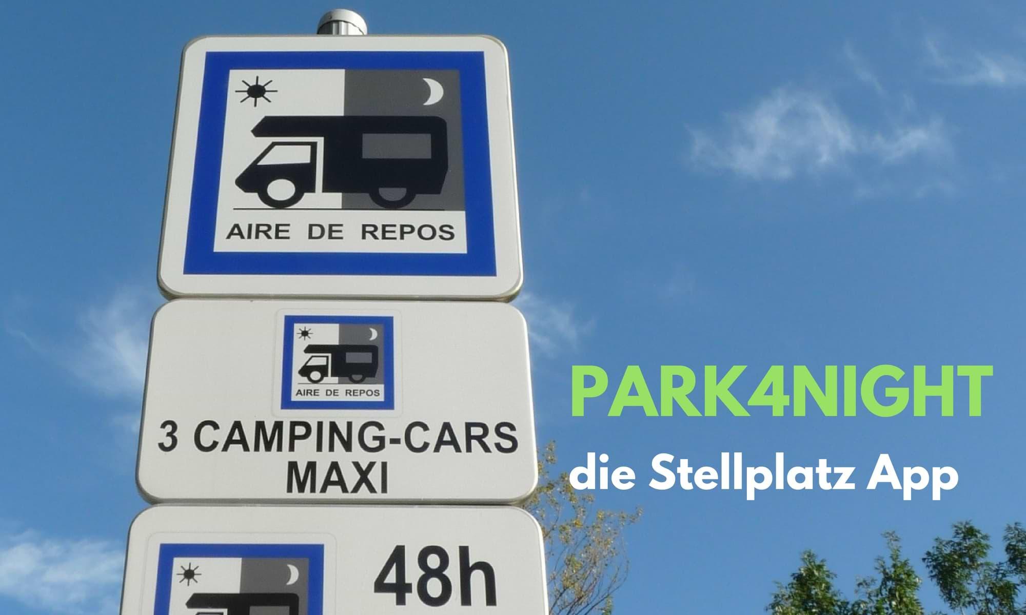 Park4Night Stellplatz App