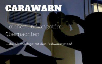 Alarmanlage Wohnmobil oder Wohnwagen von Carawarn