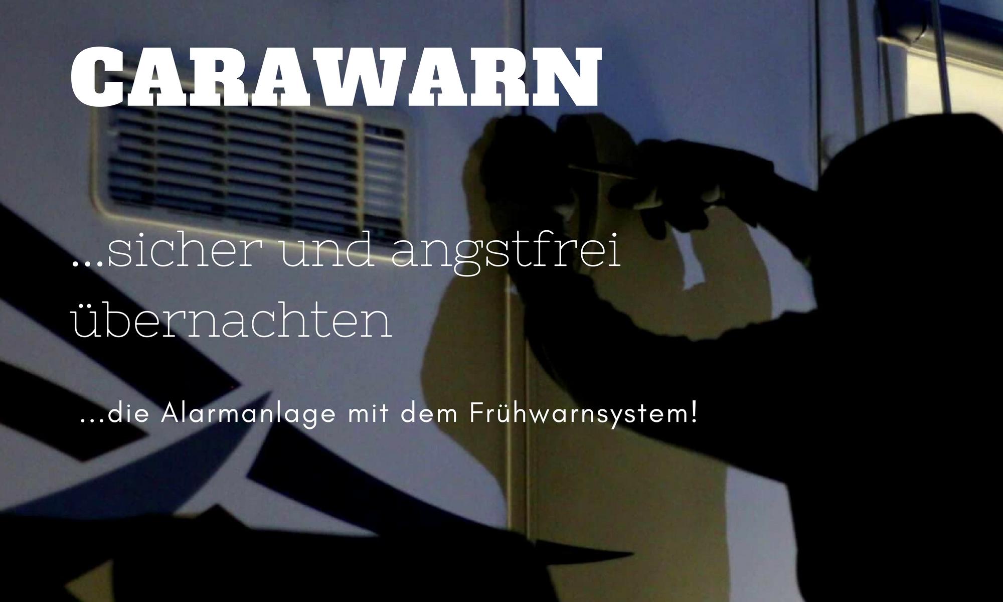 Carawarn Alarmanlage Wohnmobil Wohnwagen