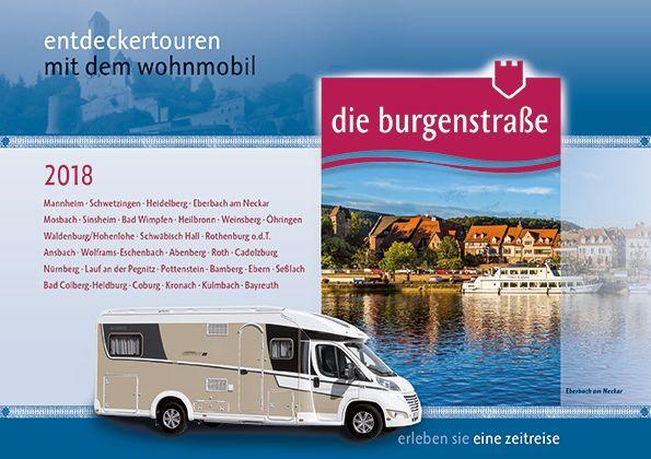 Wohnmobilbroschuere Burgenstrasse 2018