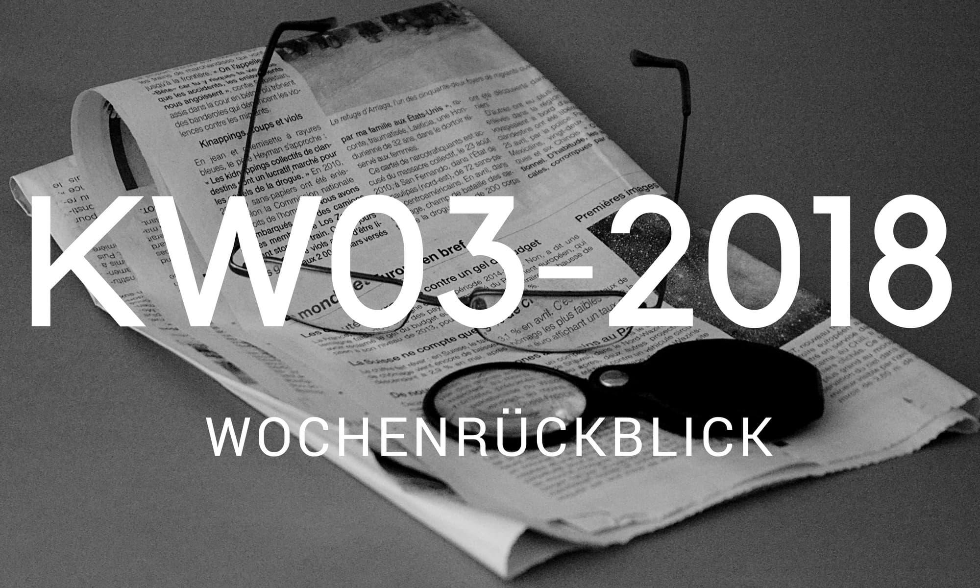 Camping News Wochenrückblick – KW03/2018