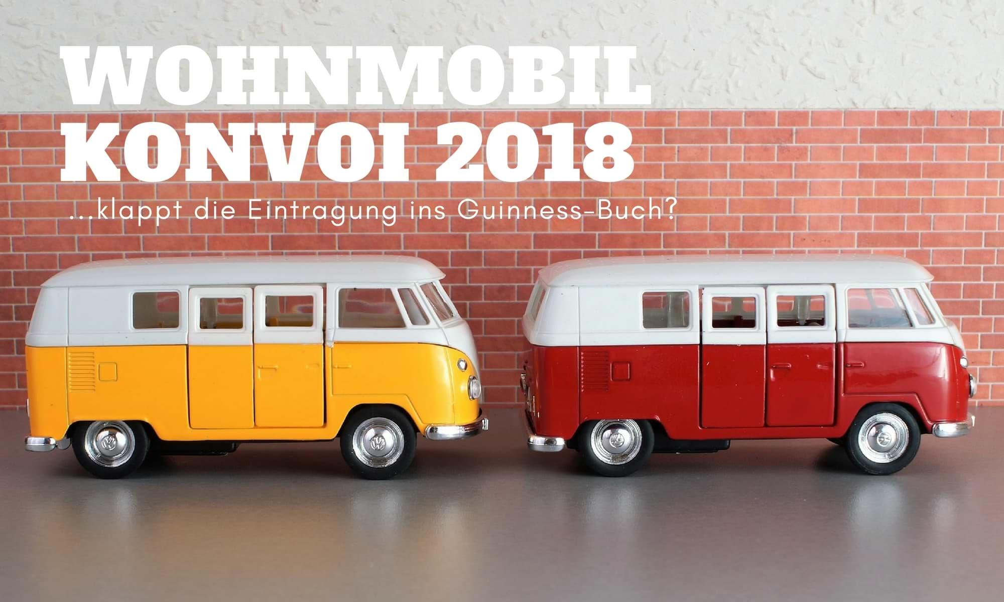 wohnmobil konvoi weltrekord guinness 2018