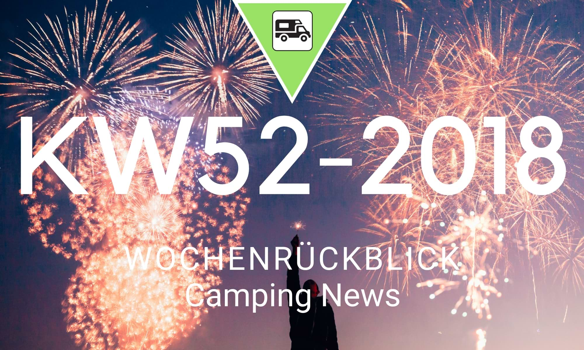 Wochenrückblick Camping News KW52-2018