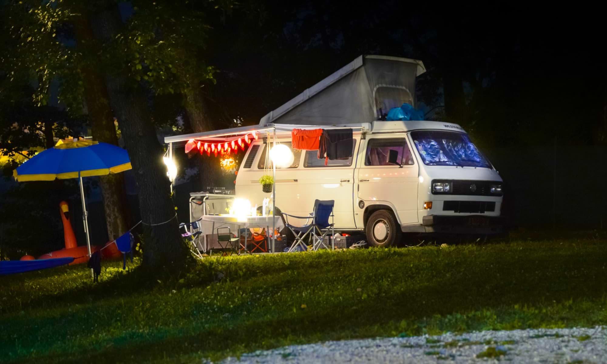 7 typische Camping Vorurteile