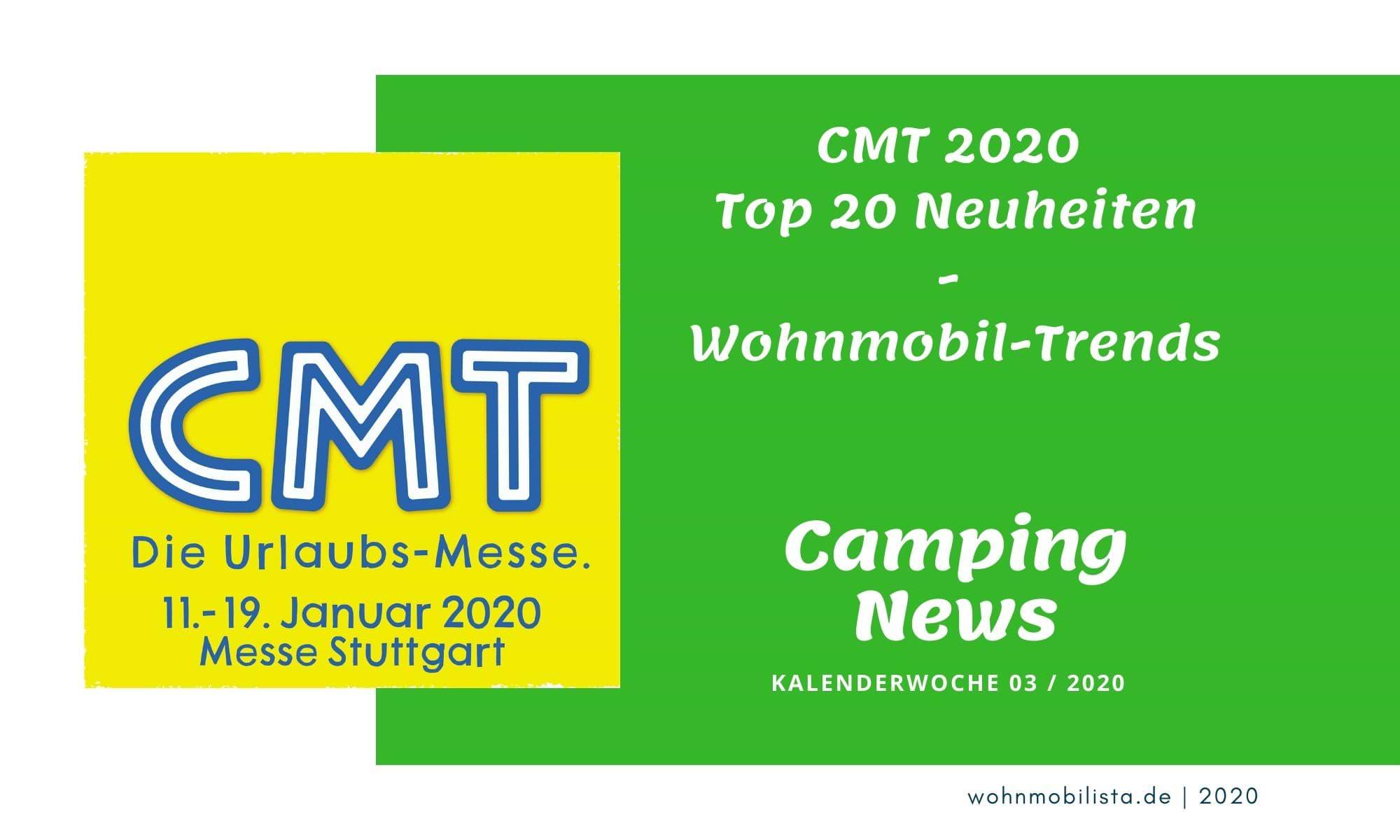 Wochenrückblick Camping News KW03-2020