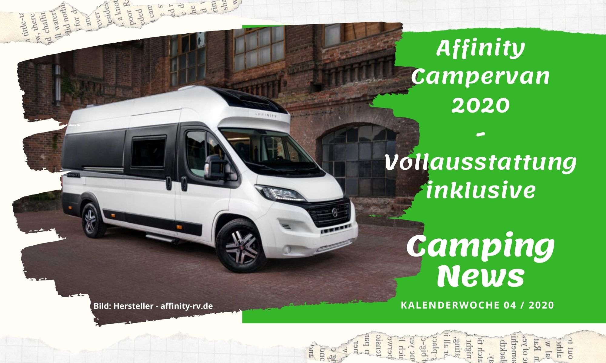 Wochenrückblick Camping News KW04-2020