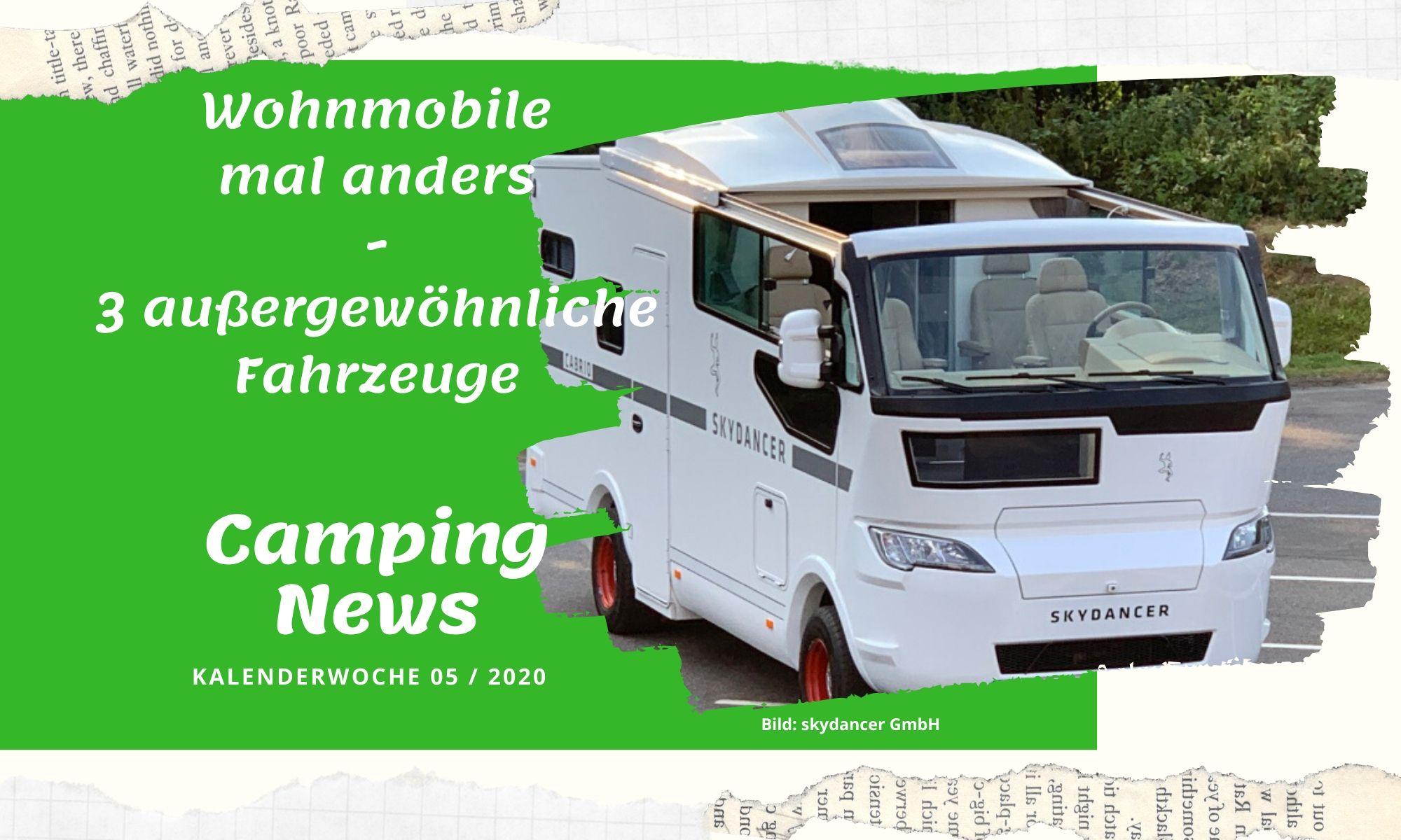 Camping News Wochenrückblick – KW05/2020