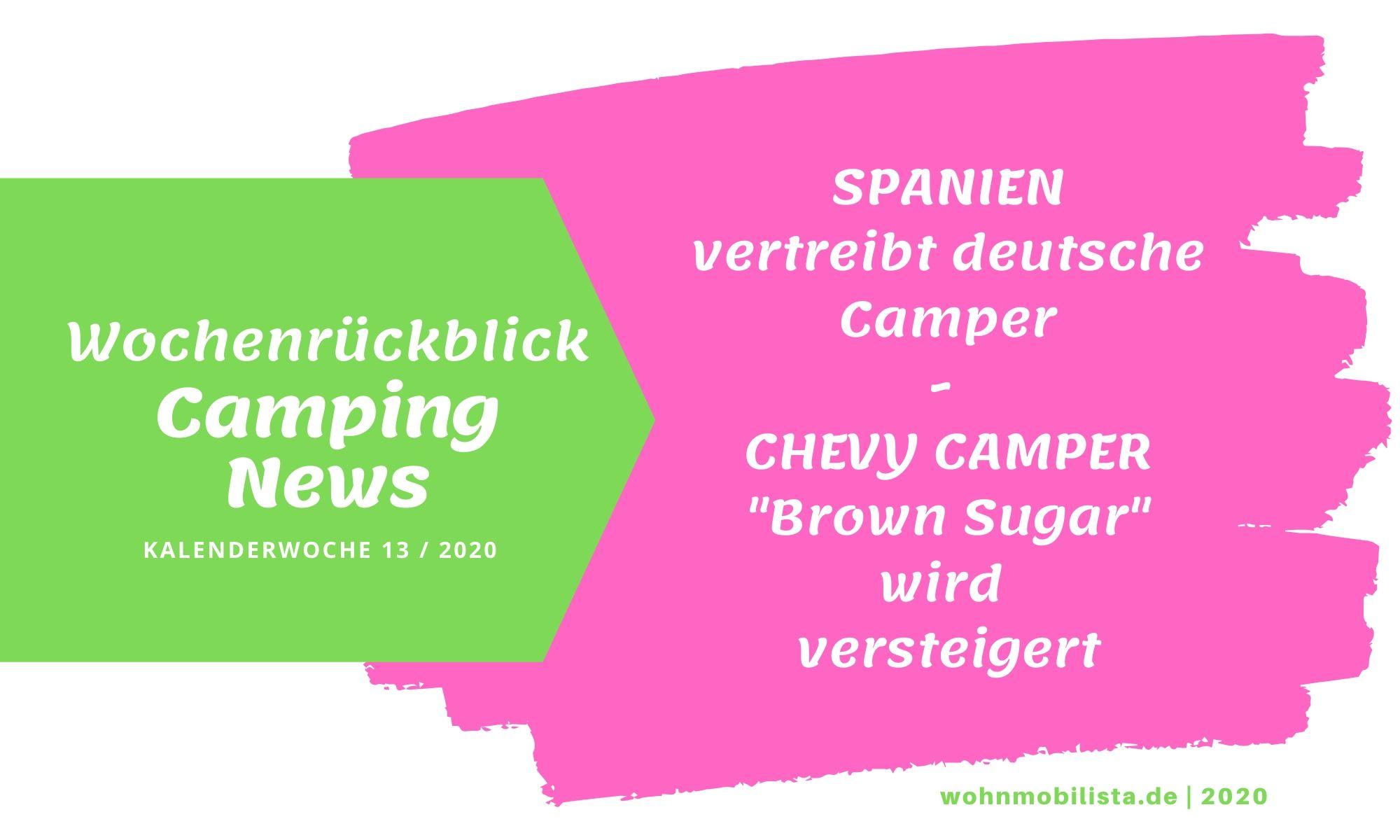 Wochenrückblick Camping News KW13-2020