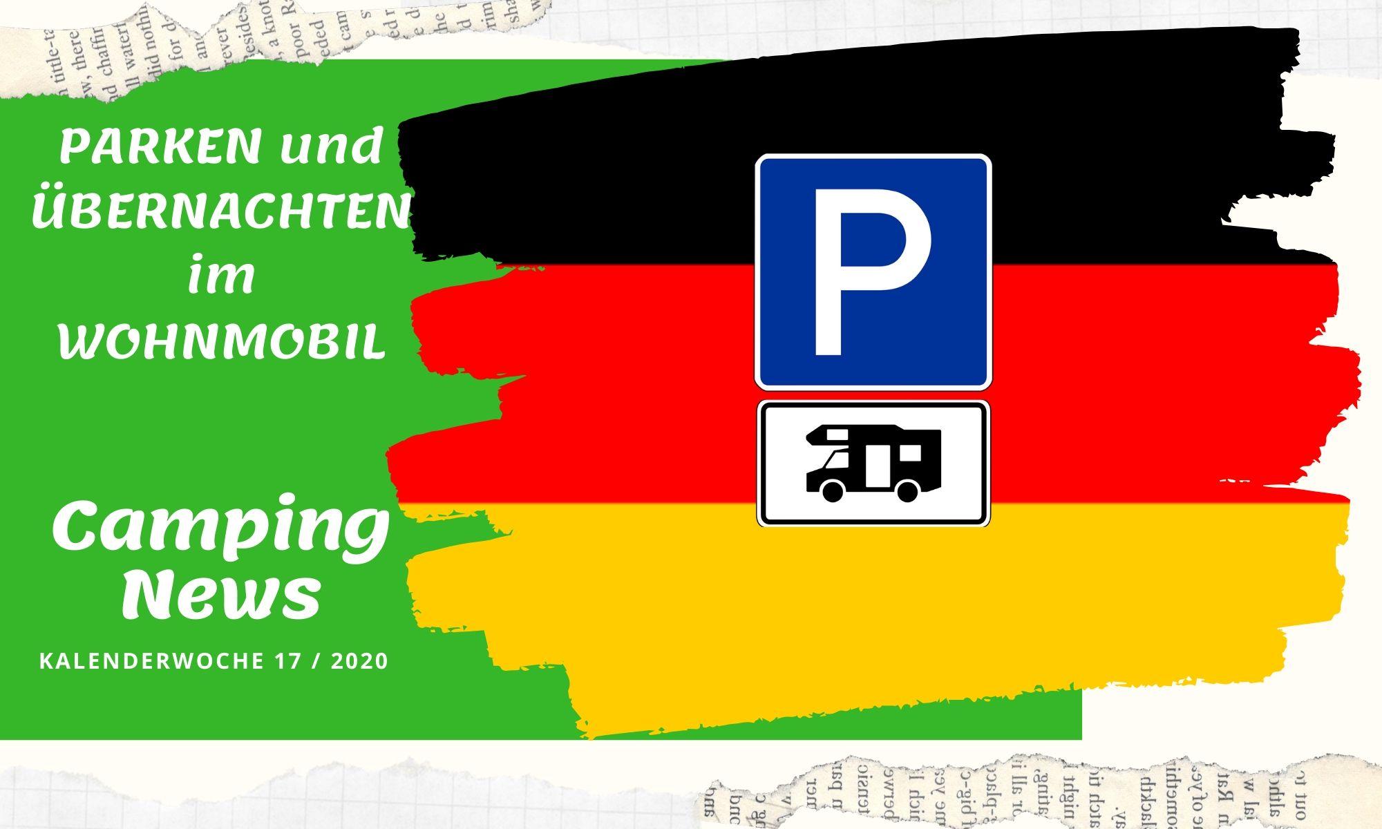 Wochenrückblick Camping News KW17-2020