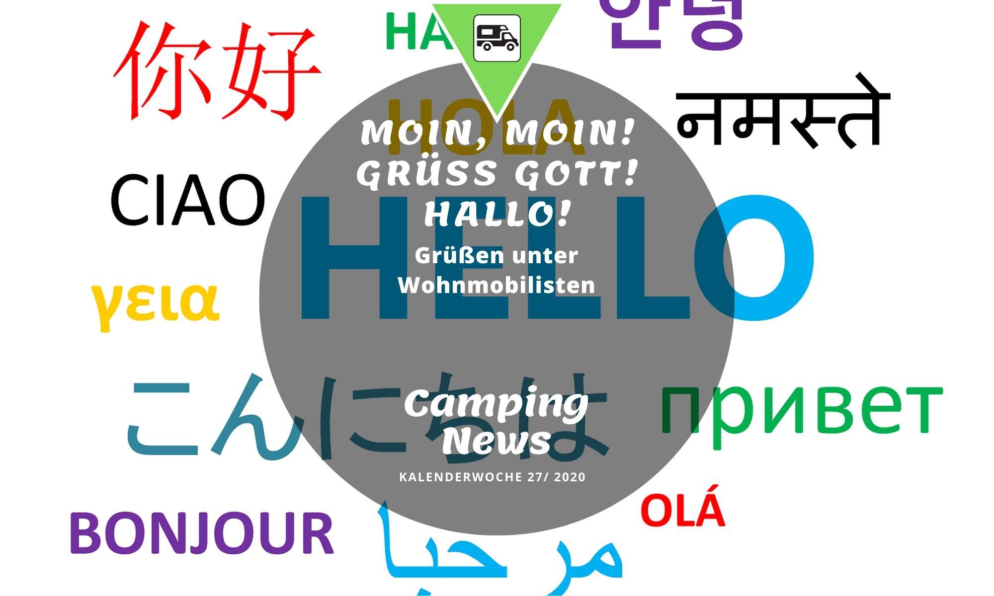 Wochenrückblick Camping News KW27-2020