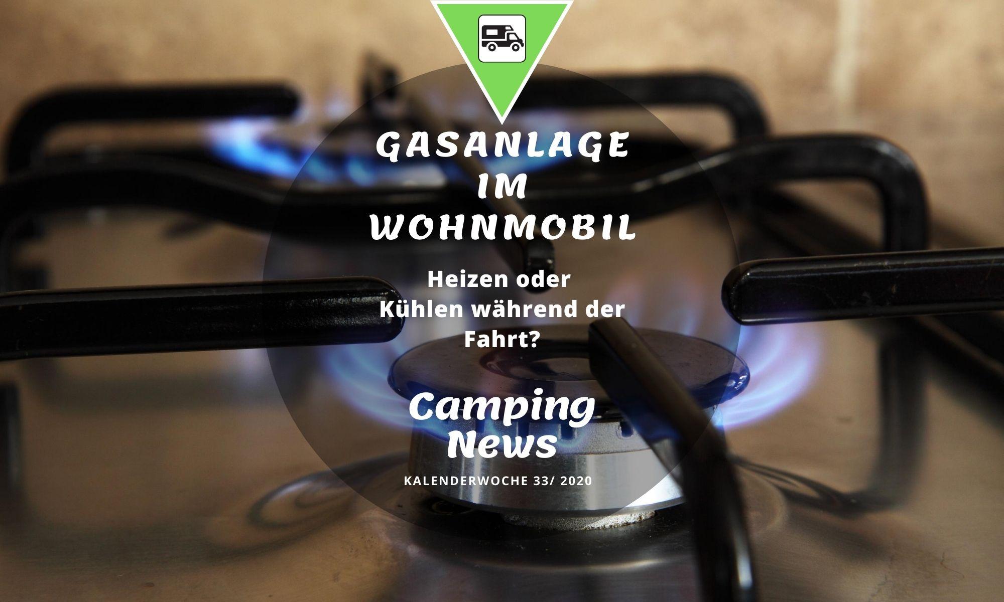 Gasanlage Wohnmobil