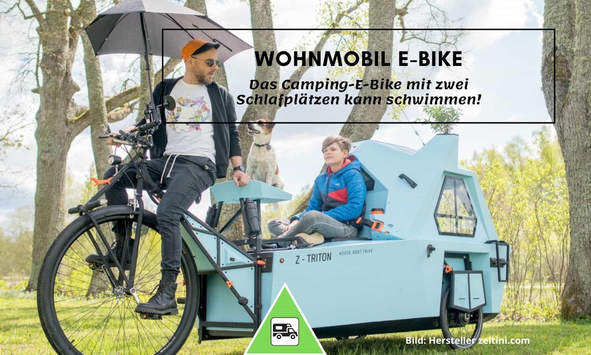 Z-Triton Wohnmobil E-Bike
