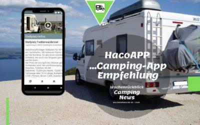 Haco-App Vorstellung  | Camping News Wochenrückblick – KW46/2020