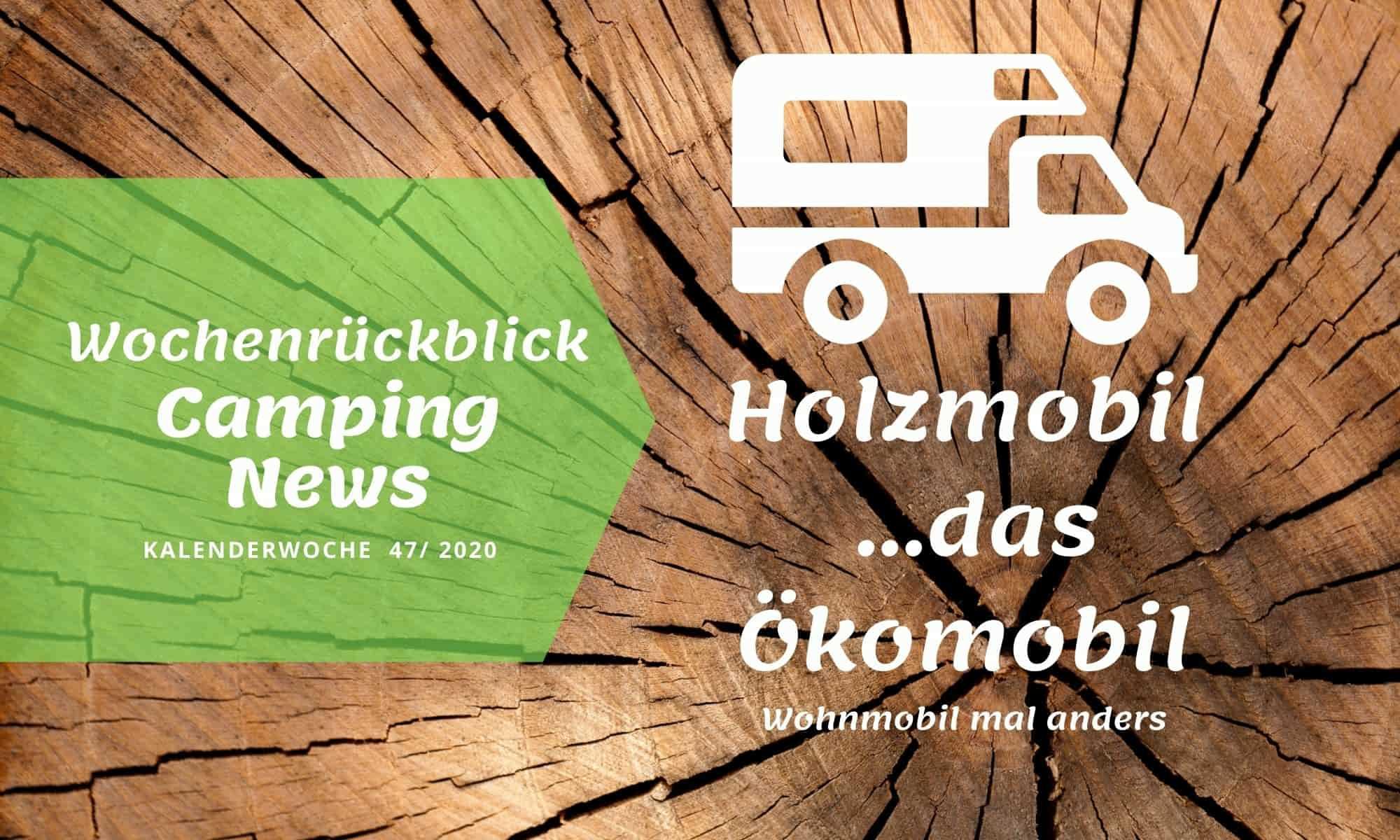 Holzmobil Wohnmobil