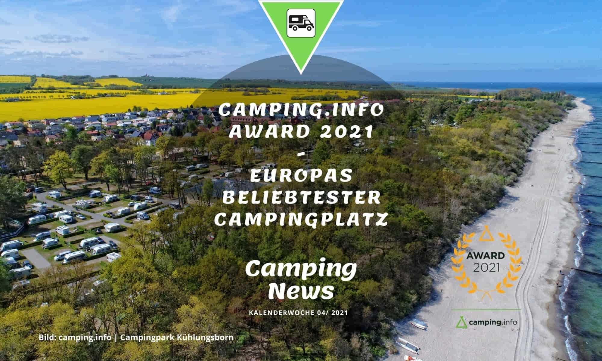 Europas beliebtester Campingplatz 2021
