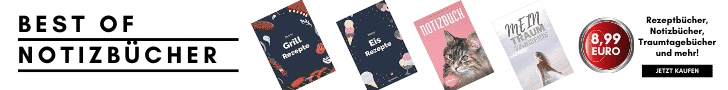 Notizbuch, Traumtagebuch, Rezeptbuch