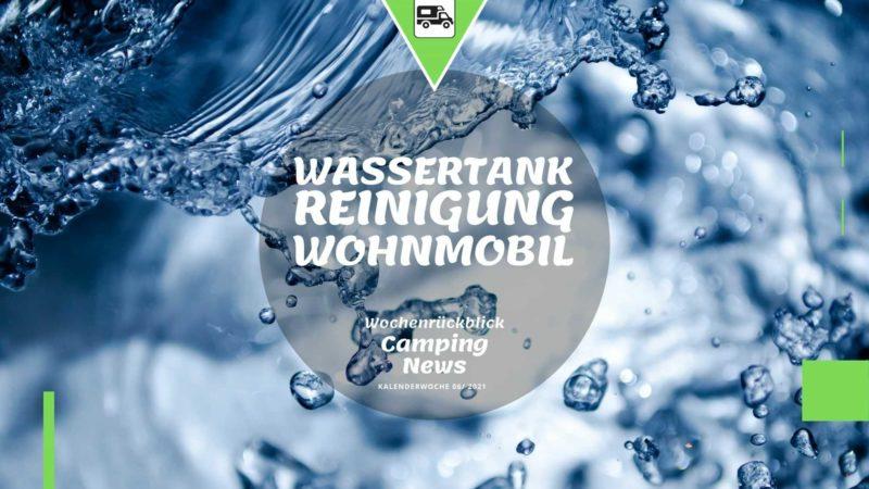 Wassertankreinigung Wohnmobil