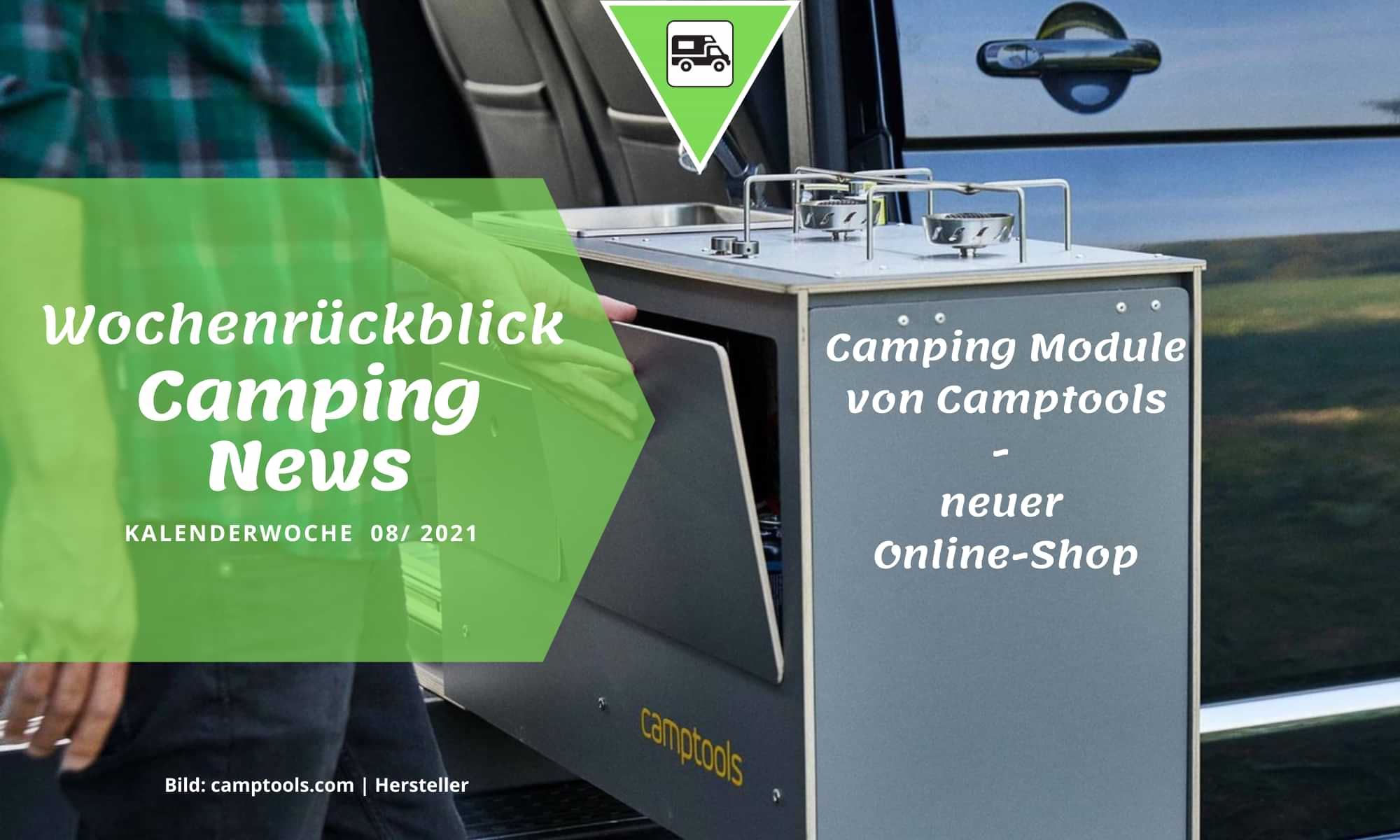 Camping Module von Camptools – neuer Online-Shop