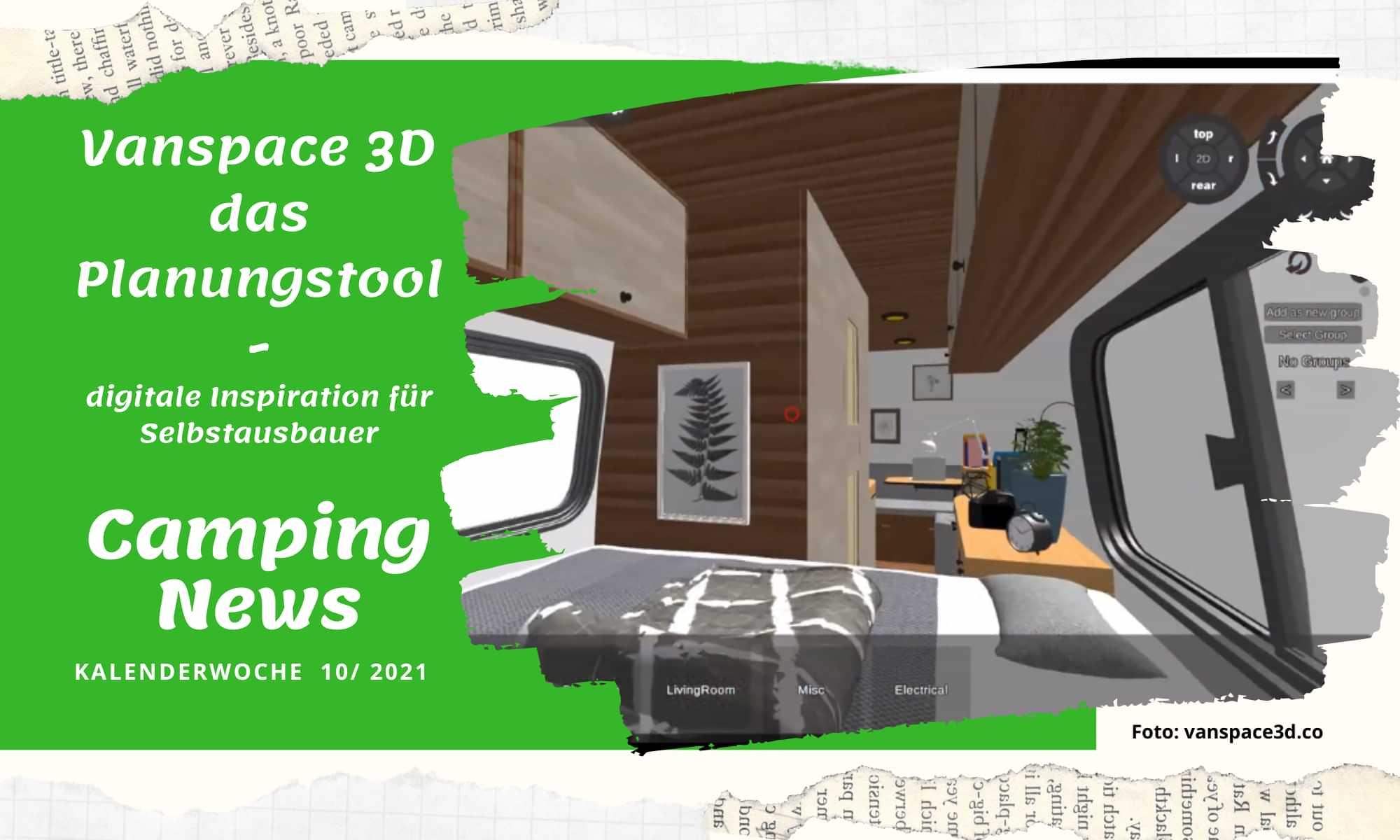 Vanspace 3D – das Planungstool