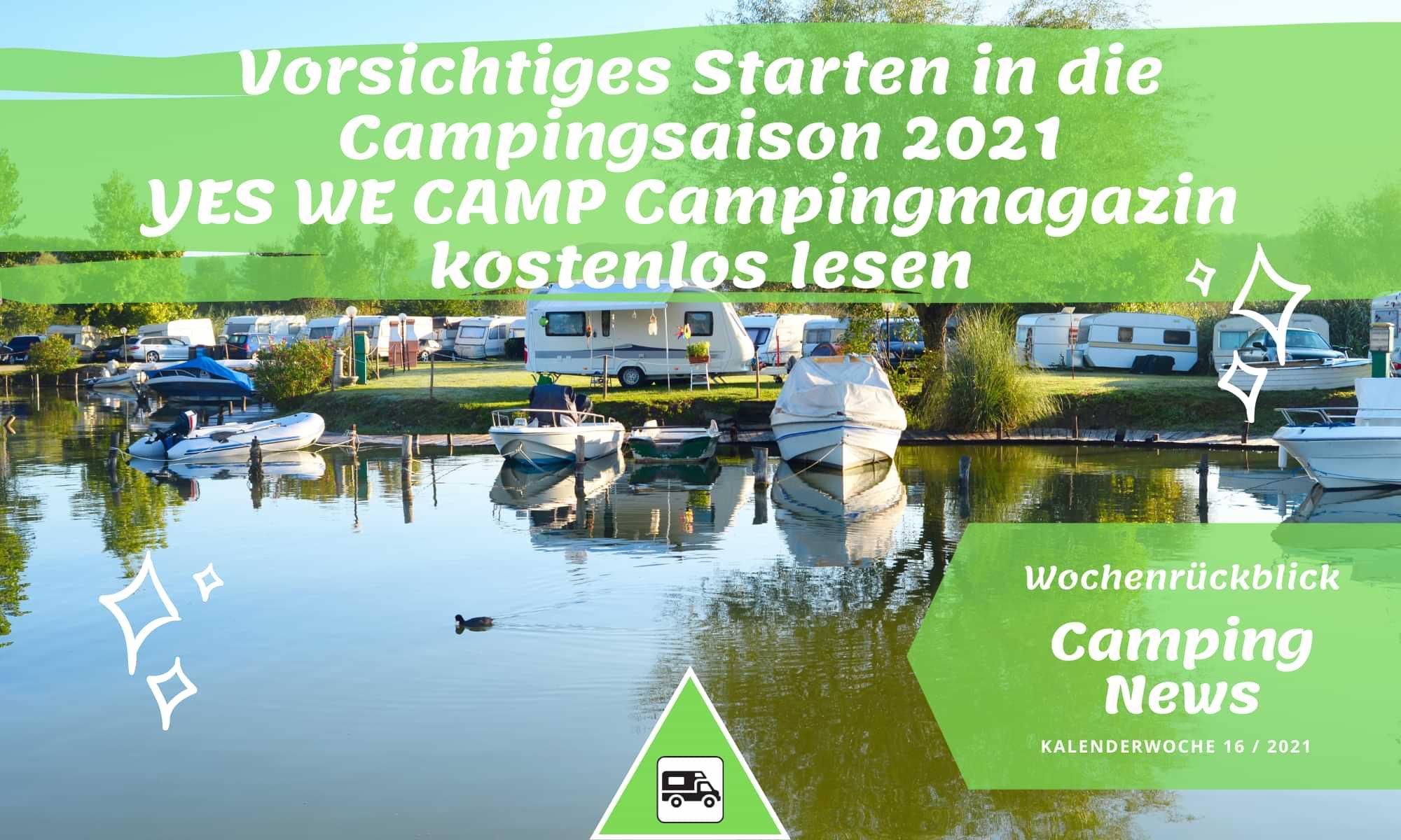 Campingurlaub trotz Corona – Öffnung für autarke Camper