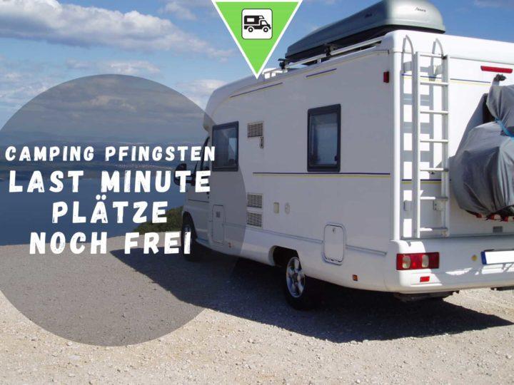 Camping Pfingsten 2021