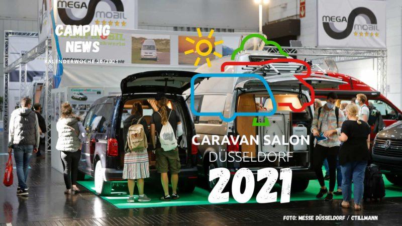 Caravan Salon - Wochenrückblick Camping News KW20-2021