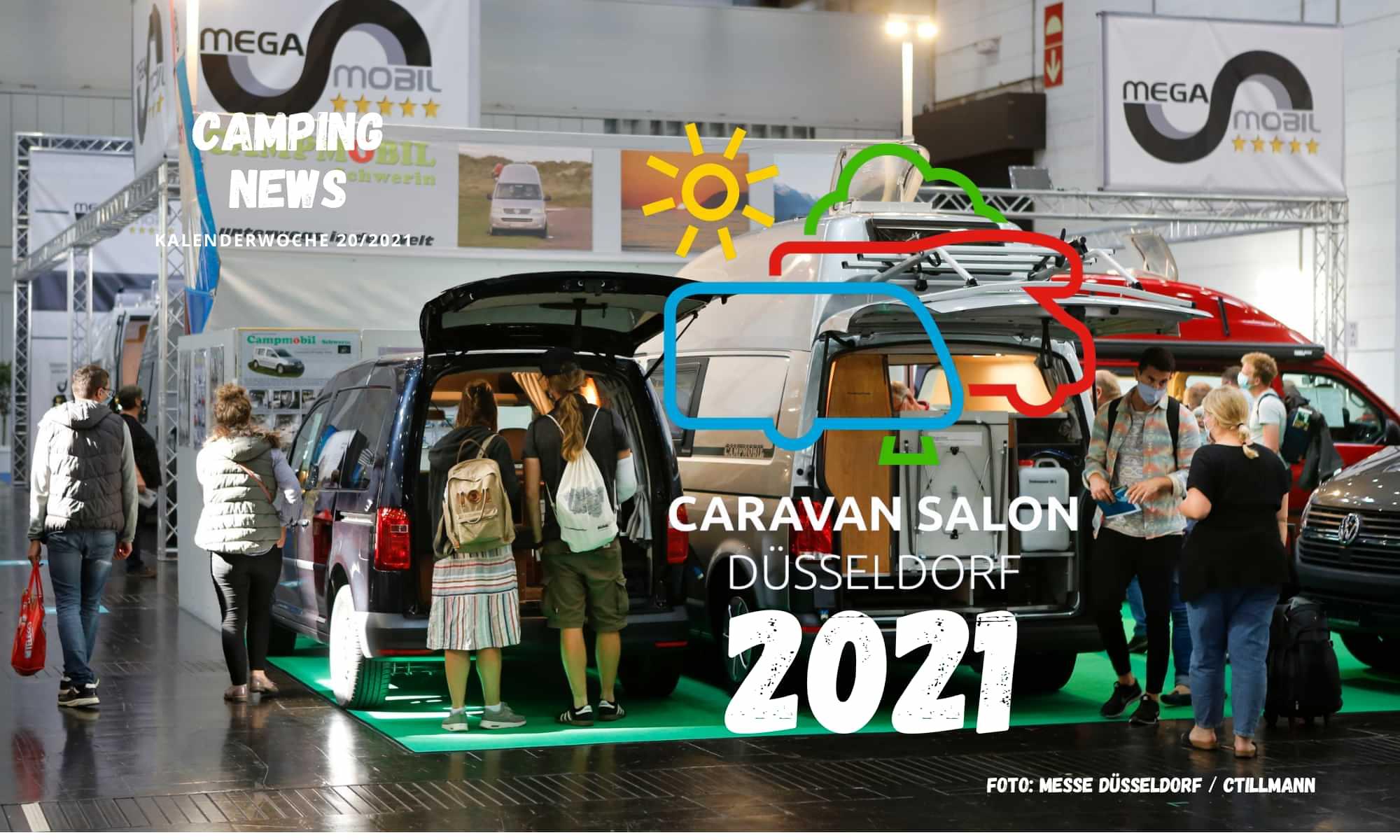 Caravan Salon Düsseldorf findet auch 2021 statt