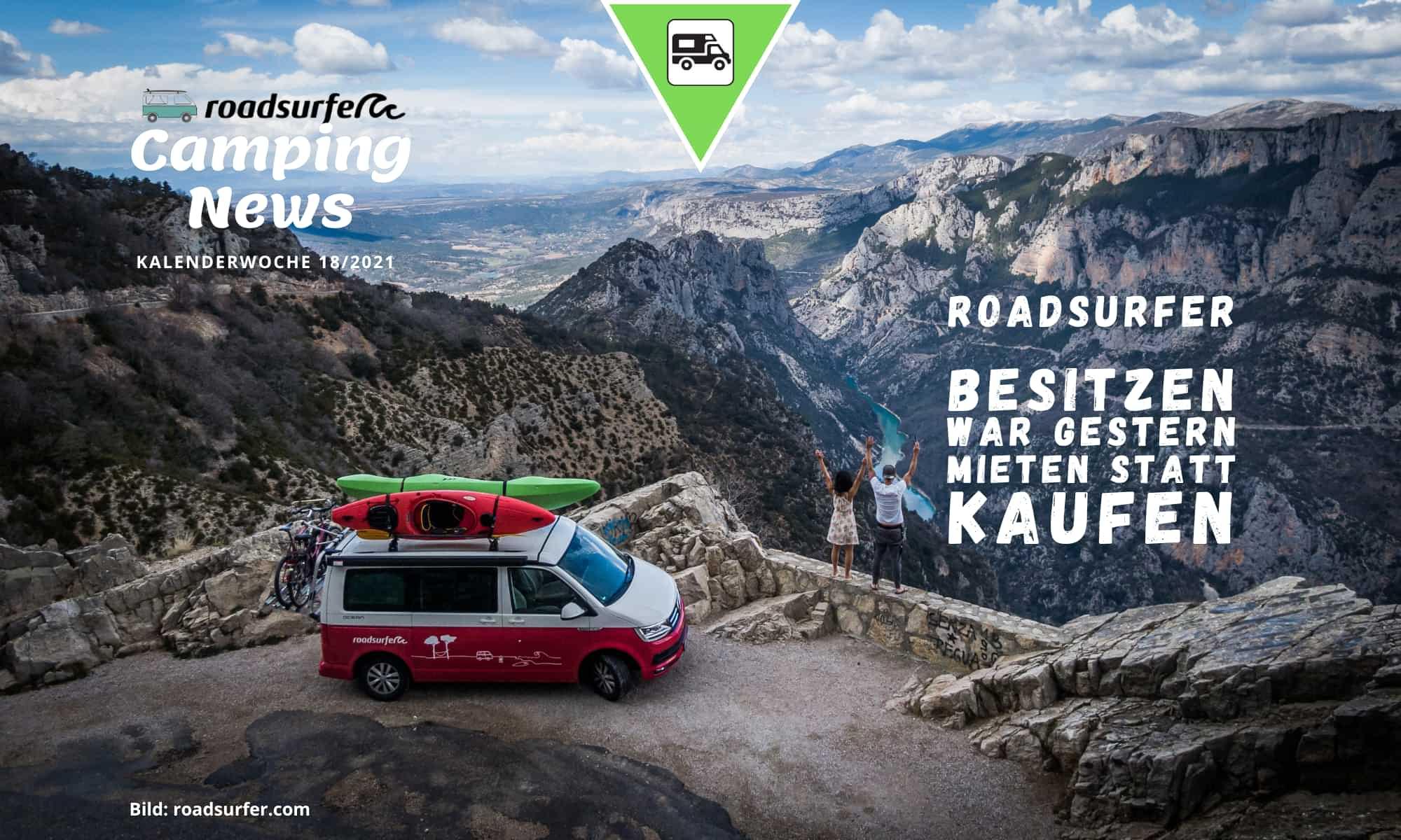Roadsurfer Camper mieten statt kaufen