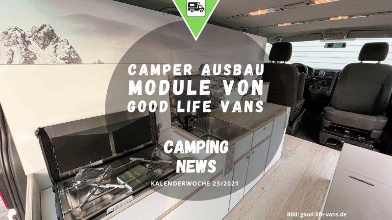 Camper Ausbau Module - Wochenrückblick Camping News KW23-2021