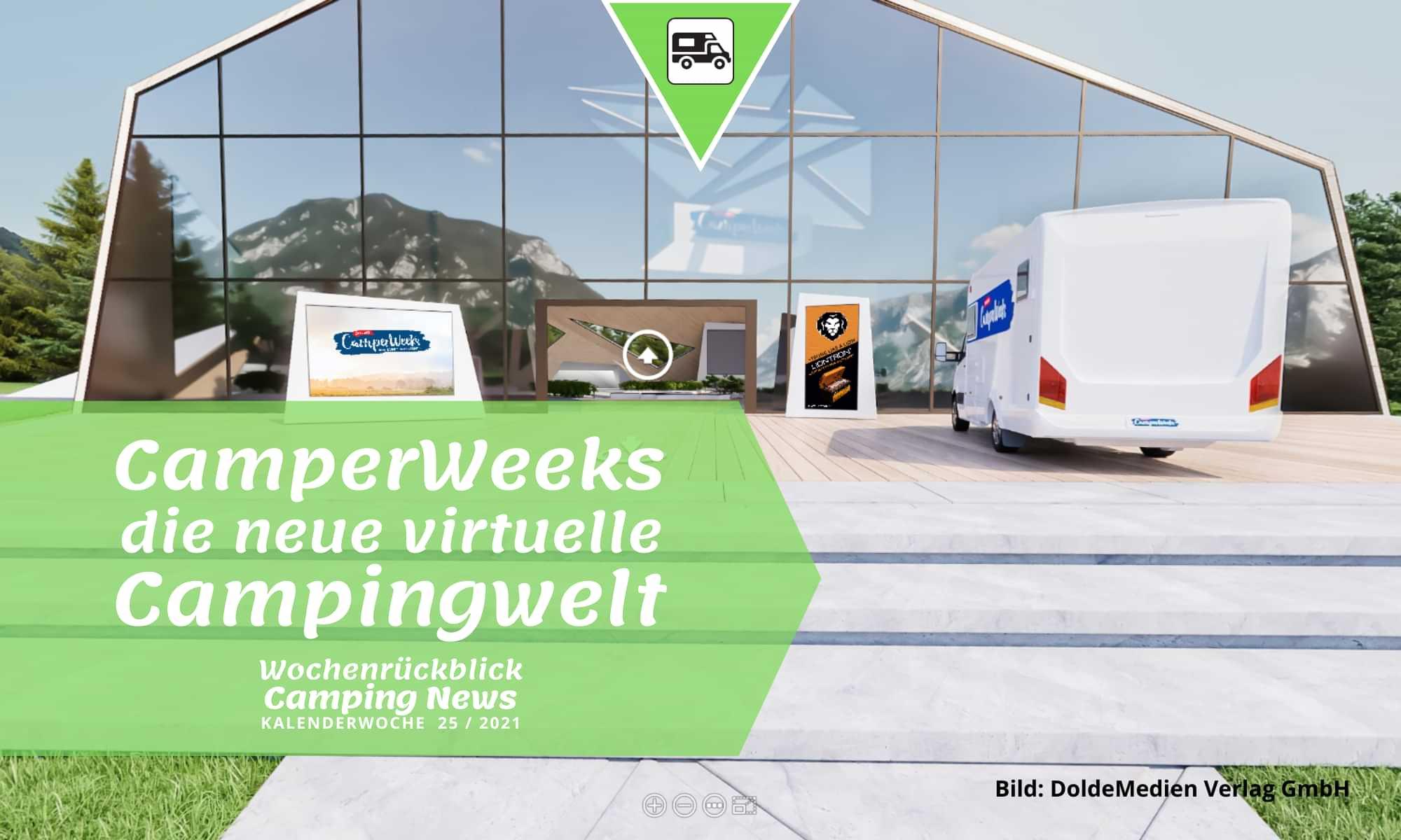 CamperWeeks: die neue virtuelle Campingwelt