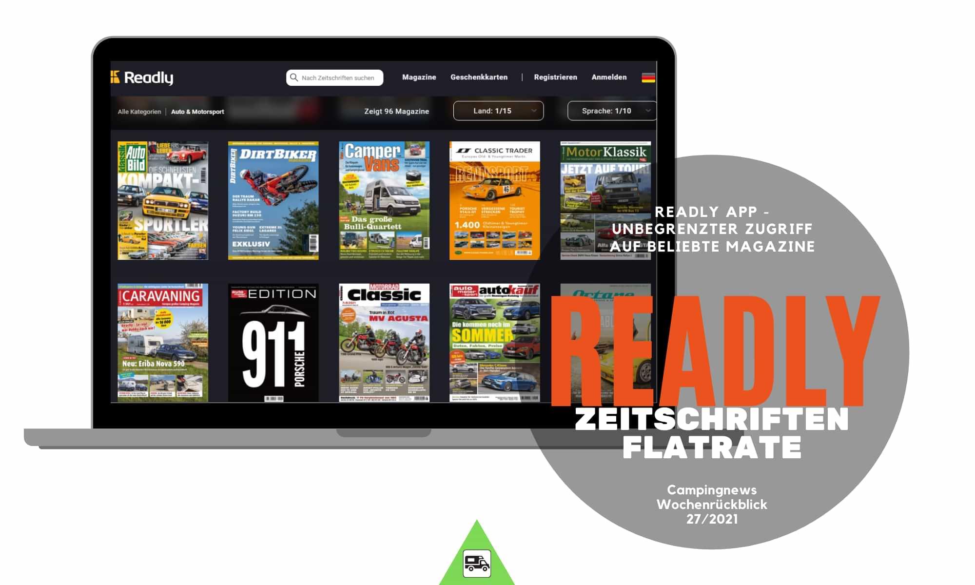 Readly App   die Zeitschriften-Flatrate