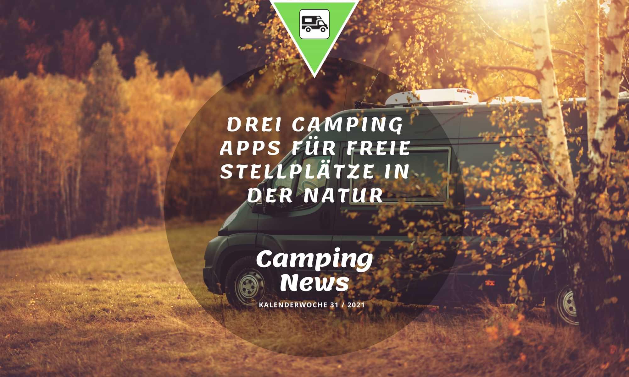 Camping App für Wohnmobil Stellplätze