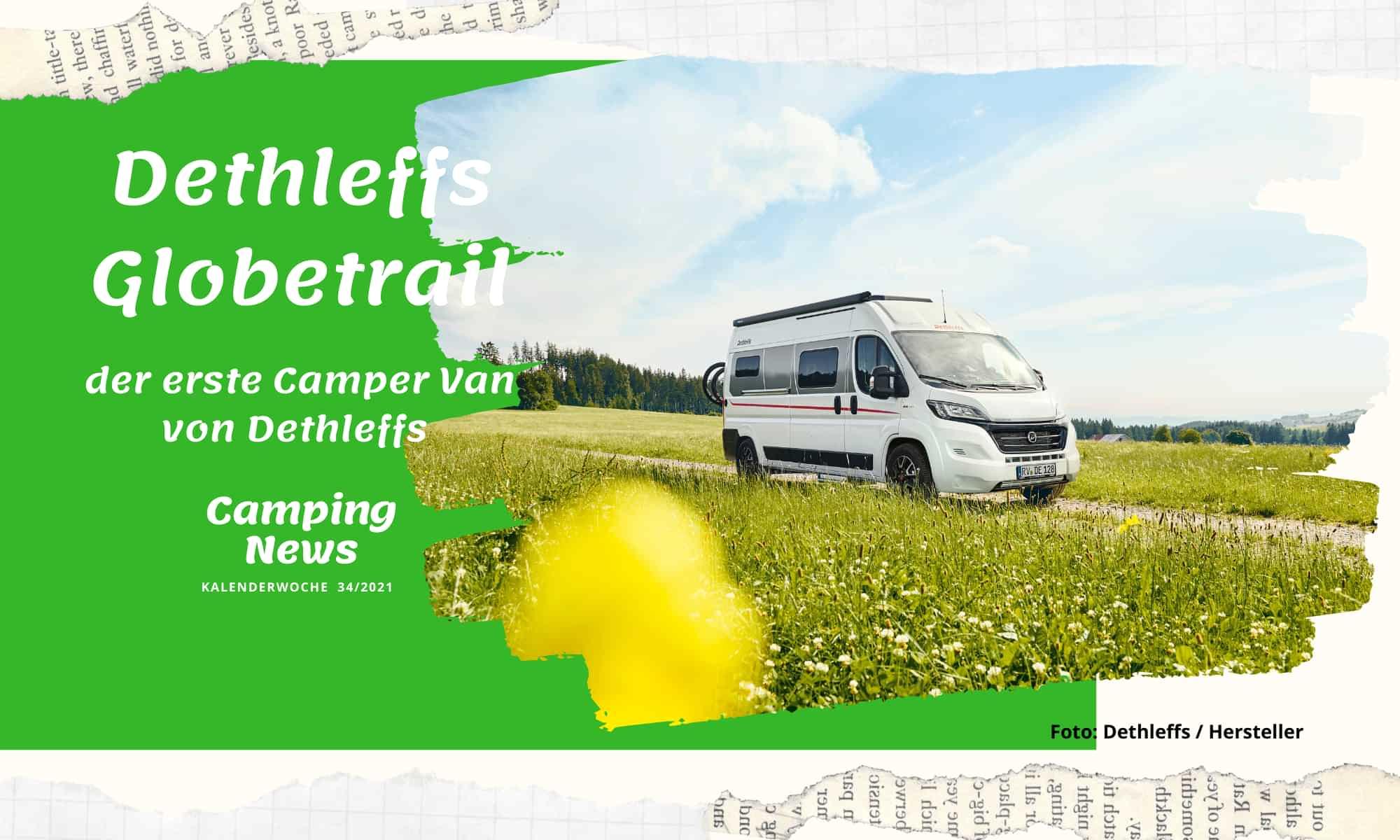 Dethleffs Globetrail: der erste Camper Van von Dethleffs