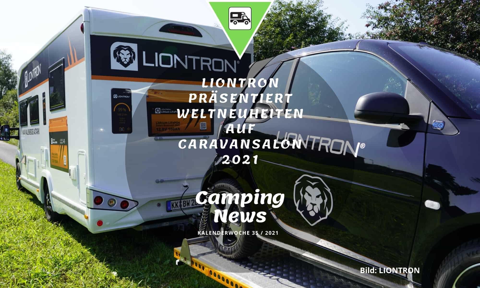 LIONTRON präsentiert Weltneuheiten auf dem Caravan Salon 2021