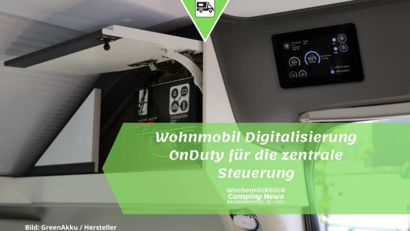 Wohnmobil Digitalisierung